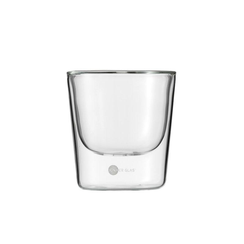 Jenaer Glas - Primo - 2 szklanki o podwójnych ściankach - pojemność: 0,19 l