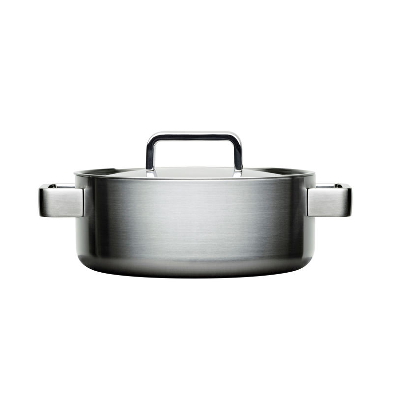 Iittala - Tools - garnek niski - średnica: 22 cm; pojemność: 3,0 l