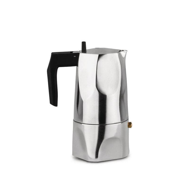 Alessi - Ossidiana - kafeteria aluminiowa - pojemność: 0,15 l