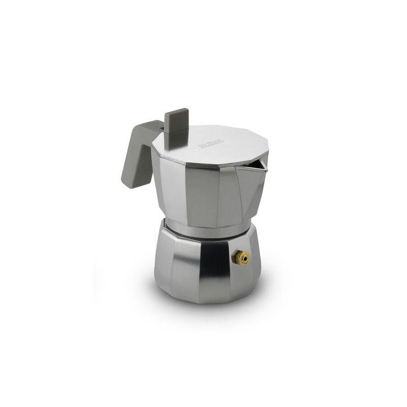 Alessi - Moka - kafeteria aluminiowa - pojemność: 0,07 l