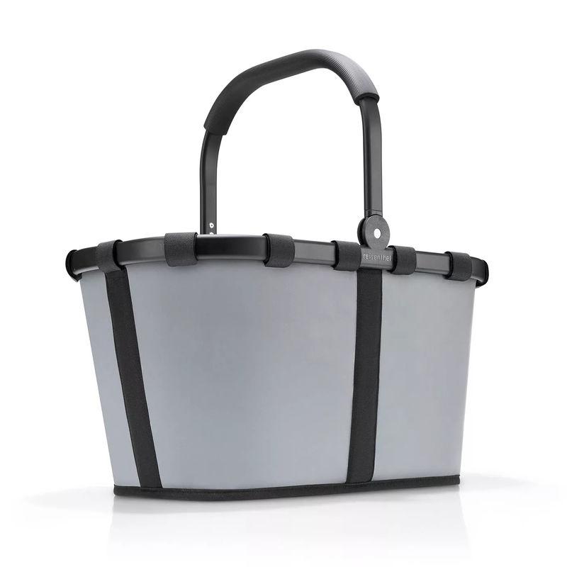 Reisenthel - carrybag - koszyk odblaskowy - wymiary: 49 x 29 x 28 cm