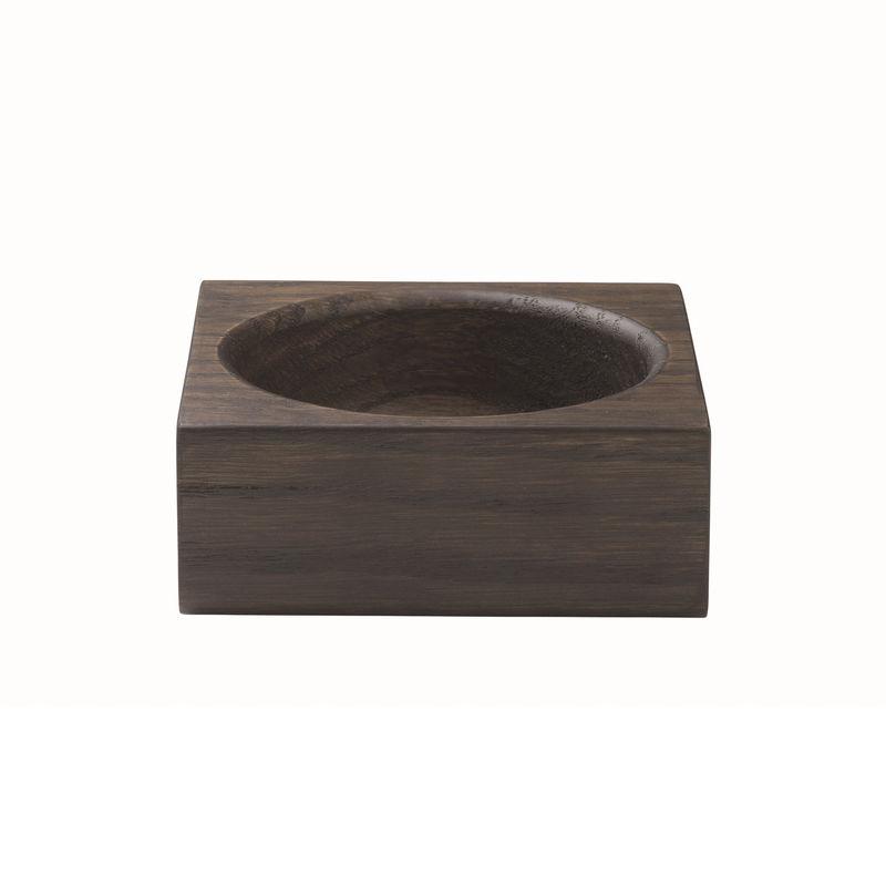 Blomus - Modo - tacka na akcesoria łazienkowe - wymiary: 10 x 10 x 4 cm