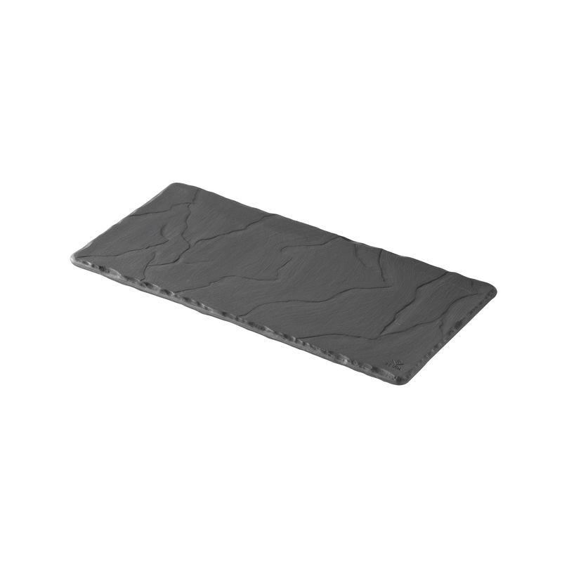Revol - Basalt - talerz prostokątny - wymiary: 25 x 12 cm