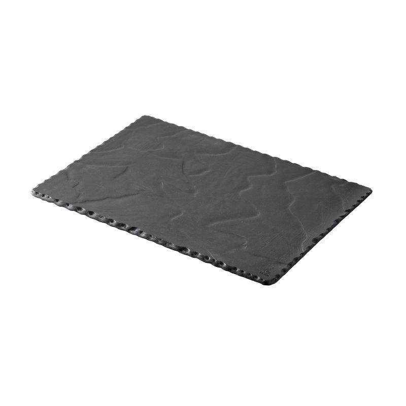 Revol - Basalt - talerz prostokątny - wymiary: 30 x 20 cm