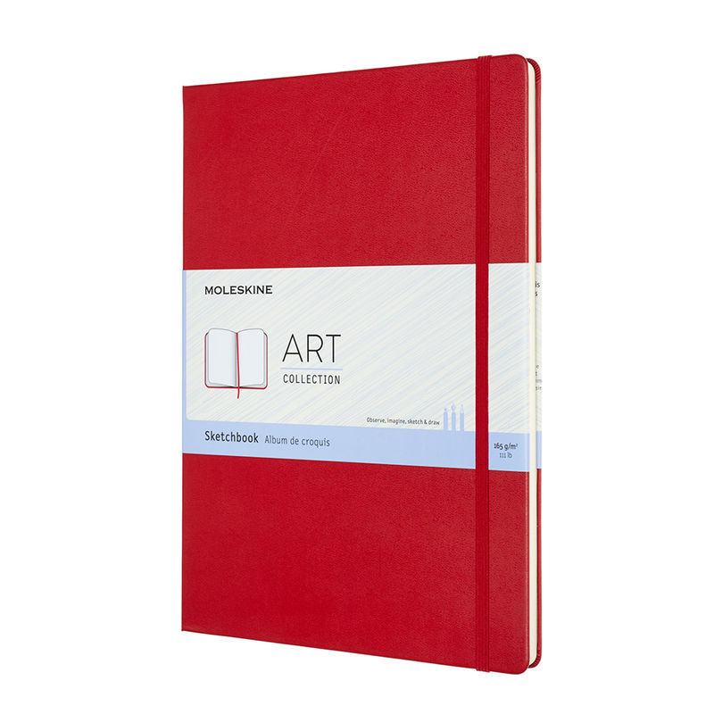 Moleskine - Sketchbook - szkicownik - 96 stron; wymiary: 21 x 29,7 cm (A4)