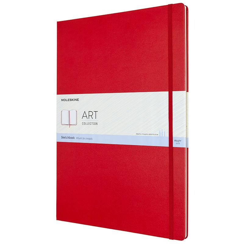 Moleskine - Sketchbook - szkicownik - 96 stron; wymiary: 29,7 x 42 cm (A3)