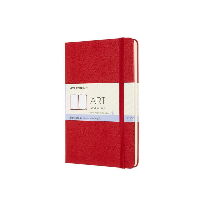 Moleskine - Sketchbook - szkicownik - 88 stron; wymiary: 11,5 x 18 cm