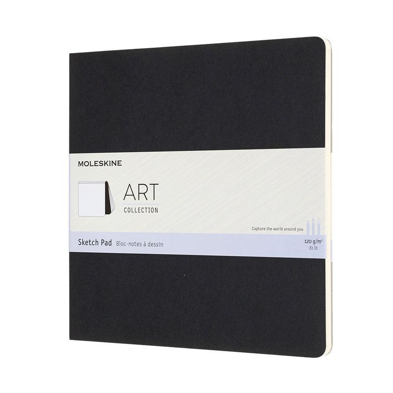 Moleskine - Art Sketch Pad - szkicownik kwadratowy - 48 stron; wymiary: 19 x 19 cm