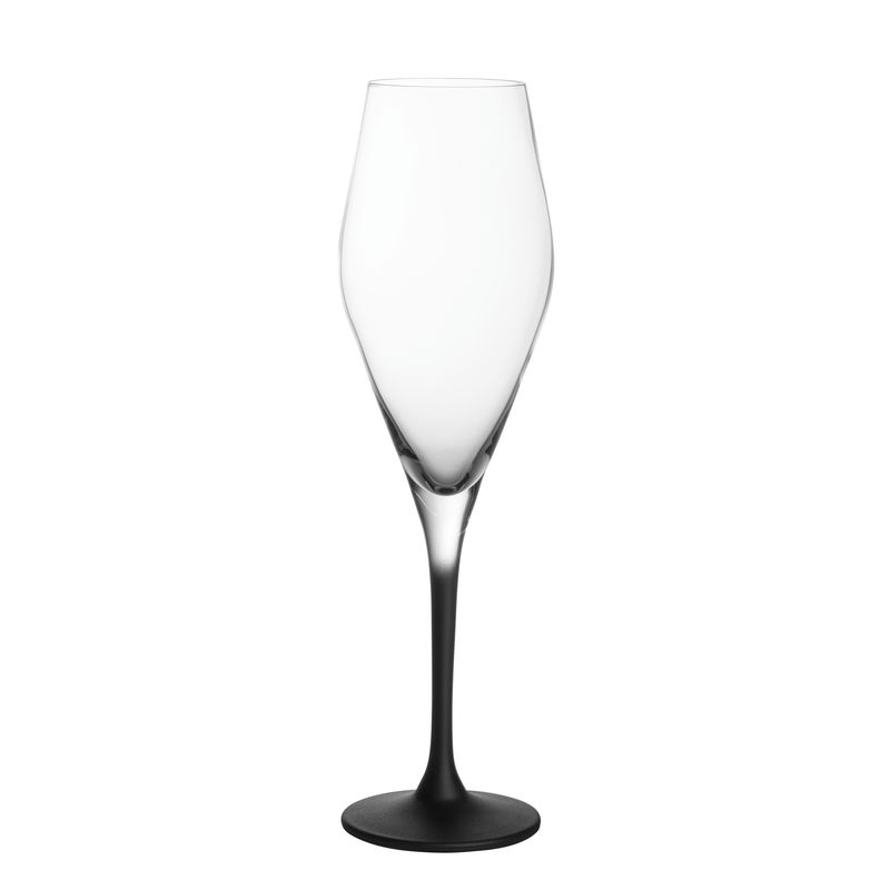 Villeroy & Boch - Manufacture Rock - 4 kieliszki do szampana - pojemność: 0,26 l