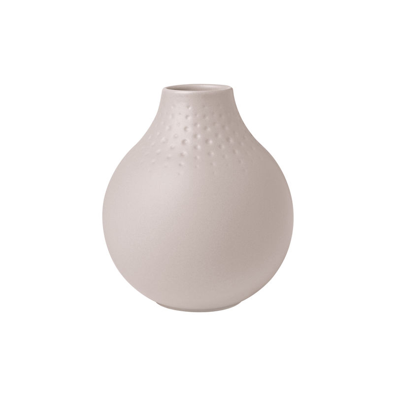Villeroy & Boch - Manufacture Collier beige - wazon Perle - wysokość: 12 cm