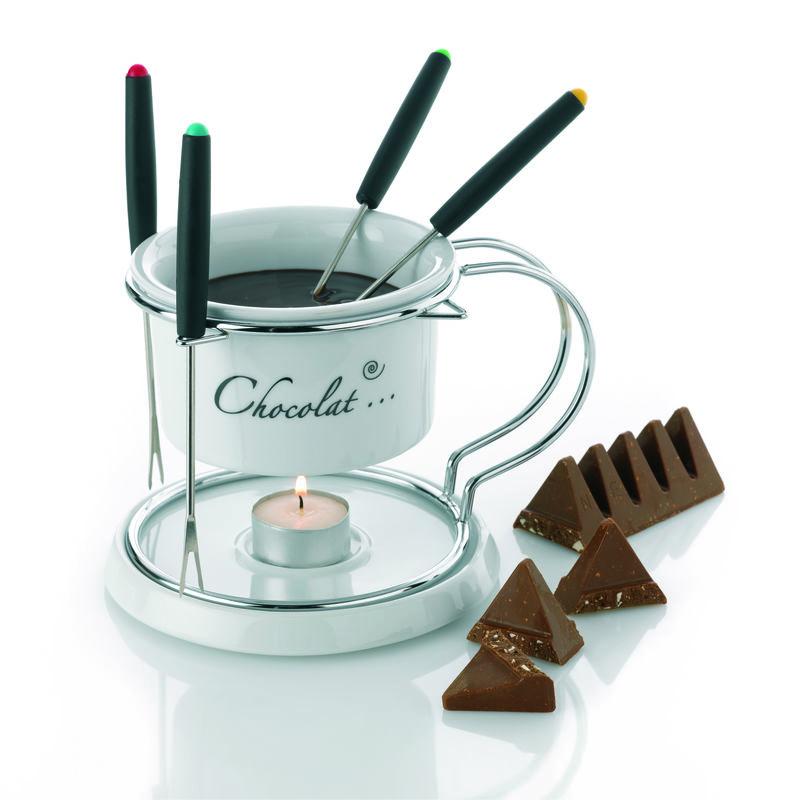ceramiczny zestaw do fondue czekoladowego Kela Choco