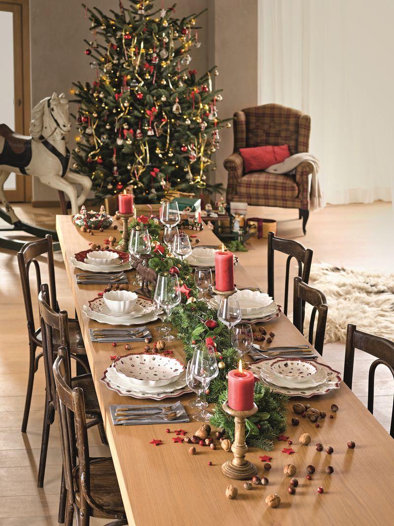 Jakie są przesądy dotyczące wieczerzy wigilijnej? Zastawa świąteczna Toy's Delight marki Villeroy Boch